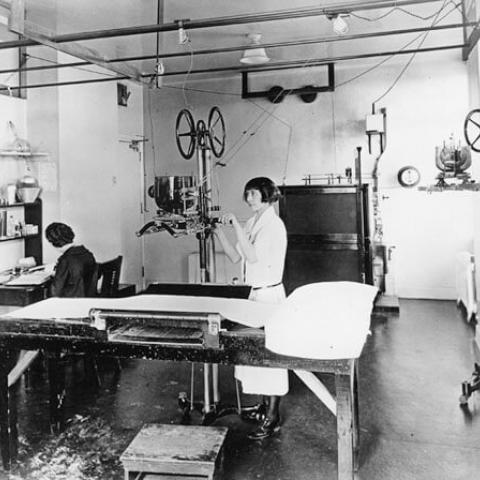 1912:  UCSF acknowledged radiology's vital role in patient care over 100 years ago by opening a dedicated x-ray facility and making sure all medical students were instructed in radiology.
