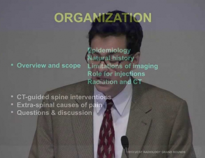 Embedded thumbnail for The Role of Spinal Interventions