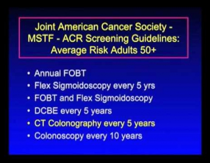 Embedded thumbnail for What are the screening guidelines for colon cancer?
