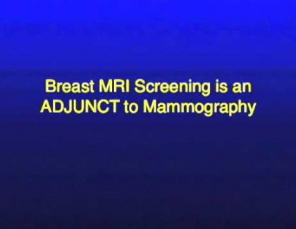 Embedded thumbnail for Breast Cancer Screening Guidelines