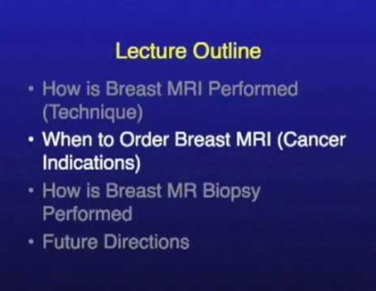 Embedded thumbnail for When is a breast MRI needed?
