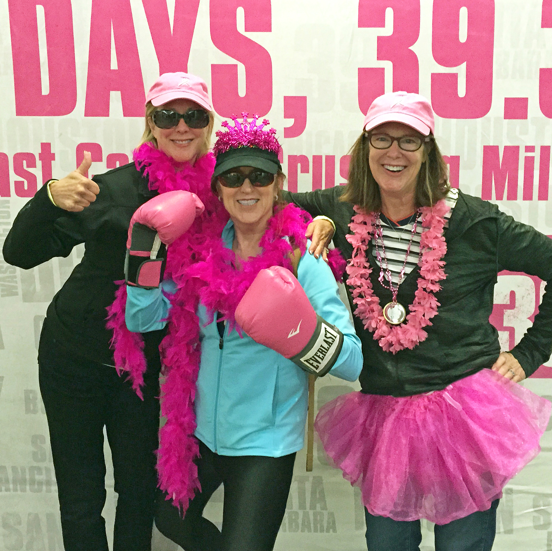 dr alisa gean walks 39 miles raises thousands to fight breast dr alisa gean poses center alongside her sisters suzanne hyle and marsha kendall all of whom walked to celebrate their mother shirley collins