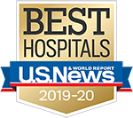 Ranked the Best Hospital in California by US News