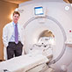 Dr. Thomas Hope with PET/MRI Scanner