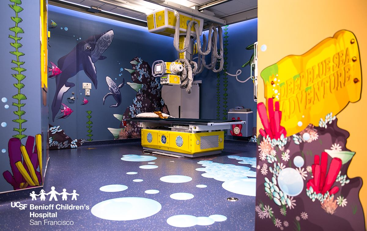 Patient Friendly Pediatric Scan Suites Ease Scanxiety