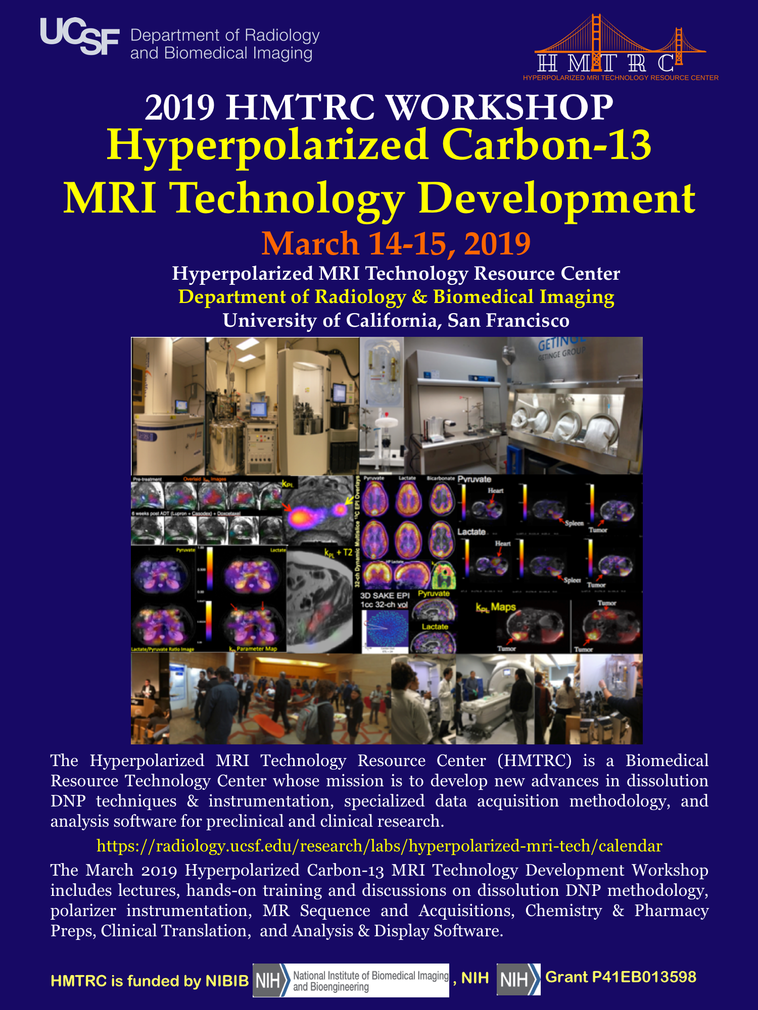 2018 UCSF HMTRC Workshop