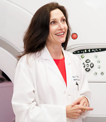 Dr. Christine Glastonbury, interim Chief of Neuroradiology